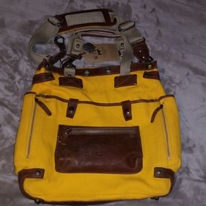 WILL Leather Goods unisex travel tote set NWT